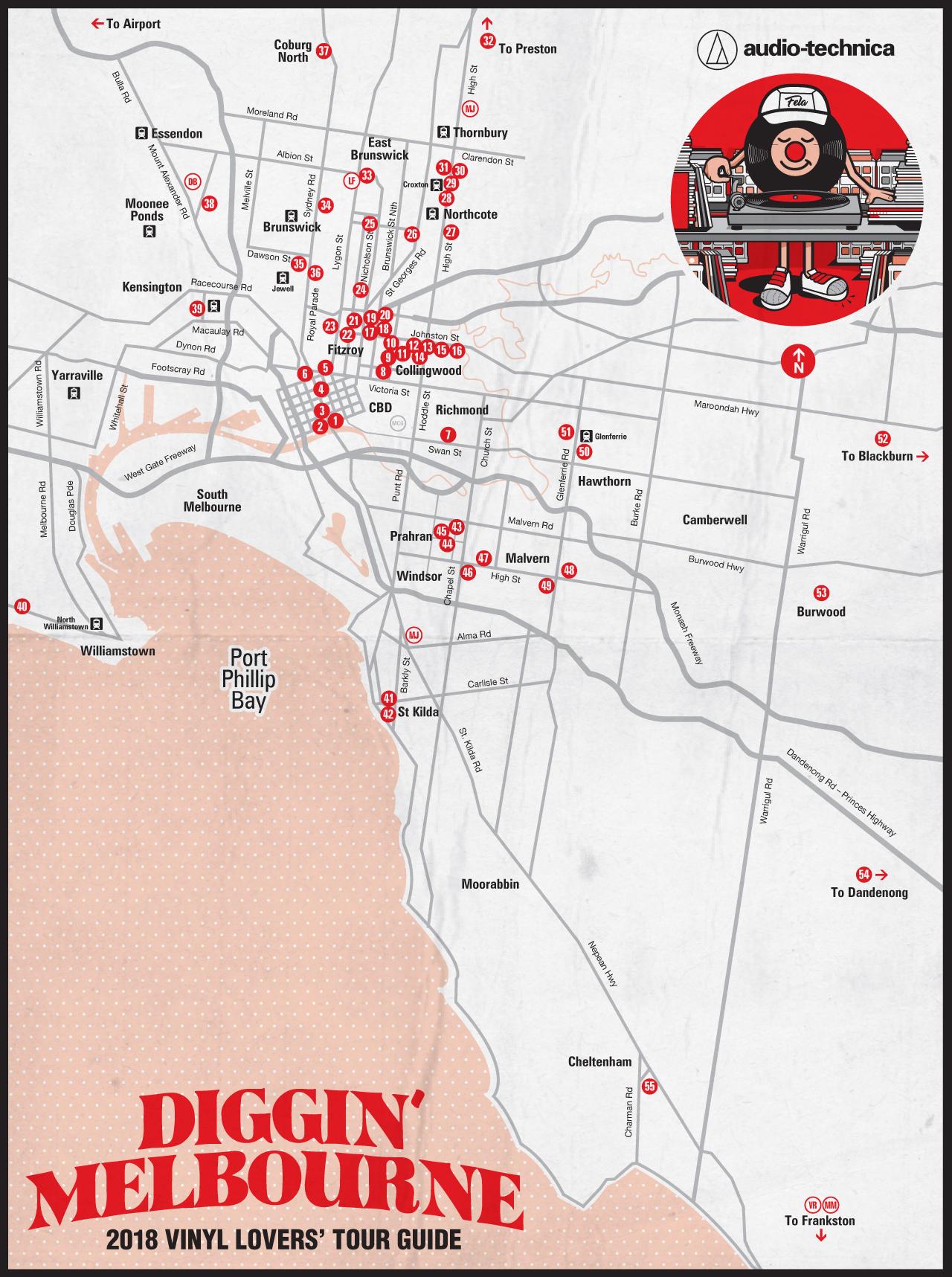 DigginMelbourne-2018-map